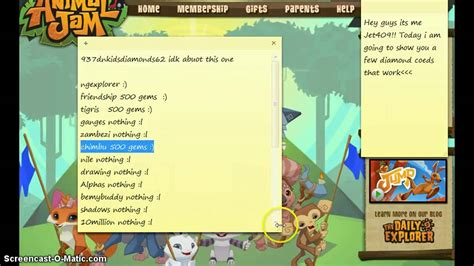 animal jam codes september 2016 animal jam gift codes july 2016 gift ftempo
