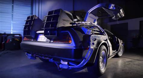 what year is the delorean from back to the future back to the future time machine restoration makes us want
