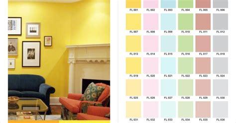 ide  warna cat tembok  lux