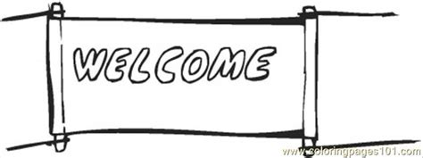 welcome coloring pages printable welcome coloring page free printable coloring pages