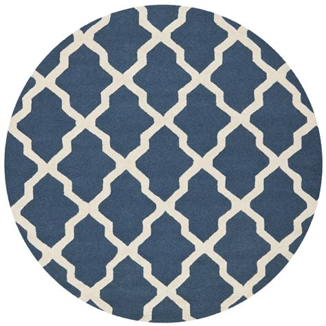 navy blue wool rug safavieh cambridge navy blue ivory wool area rug cam121g ebay