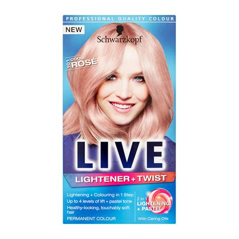 liver color schwarzkopf live colour lightener twist feelunique