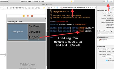 Xcode Database Tutorial For Beginners | xcode tutorials for beginners how to create swipeable