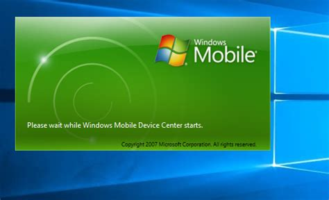 microsoft windows mobile device center windows mobile device center has stopped working after