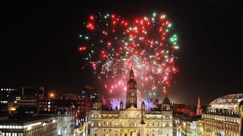 Official Christmas Light Switch On At George Square In George Square Lights