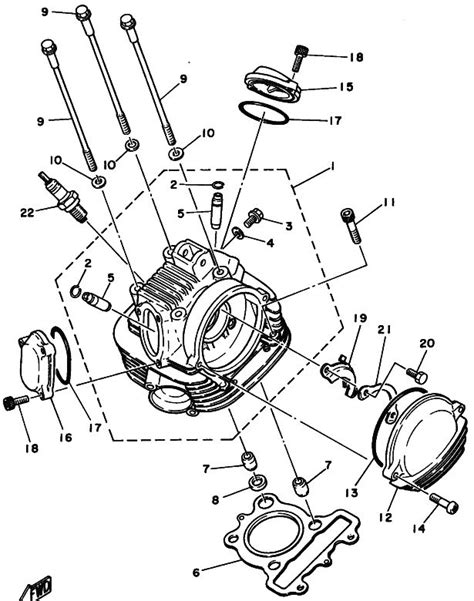 yamaha xt250 wiring diagram electrical schematic