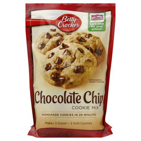 betty crocker cookies betty crocker cookie mix chocolate chip 17 5 oz 1 lb 1