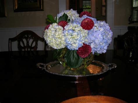 Dining Room Floral Centerpieces Photo Gallery Dining Room Centerpiece Photo Hydrangea