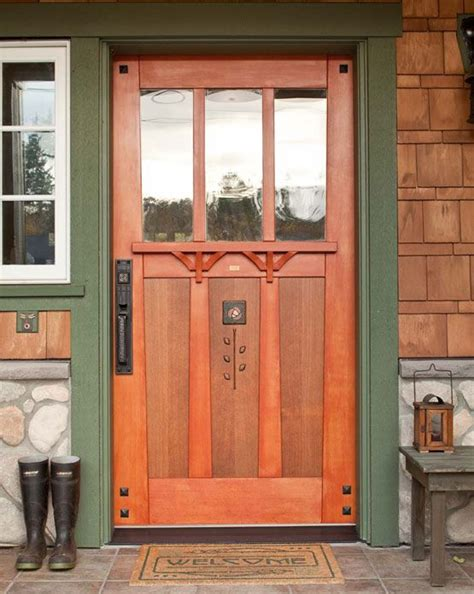 42 Inch Front Door Tiny Cabin To Craftsman Bungalow Crafts Craftsman And Columbia
