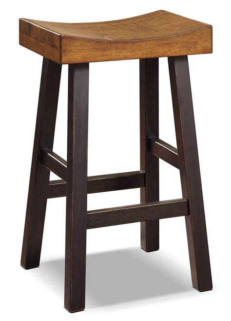 bar benches glosco 30 quot saddle seat bar stool the brick