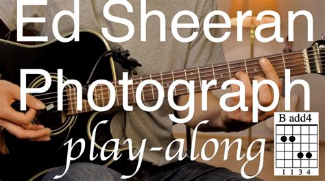 tutorial guitar photograph ed sheeran photograph guitar lesson tutorial play