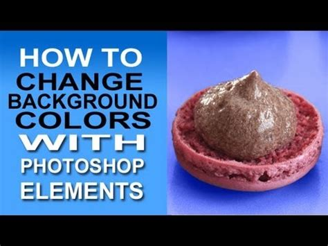 photoshop tutorial how to change the background using cs6 change background color with photoshop elements a quick