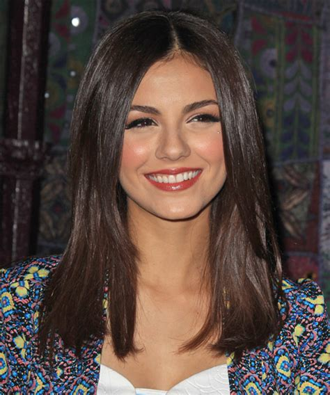 straight collar bone length hairstyles victoria justice hairstyles in 2018