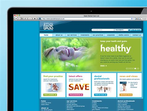 Oasis Dental Websites Oasis Healthcare Ten Trees Home Designing Websites