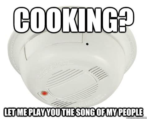 Alarm Meme - cooking let me play you the song of my people unhelpful