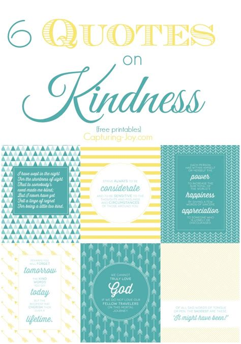printable kindness quotes kindness begins with me
