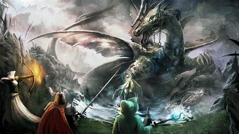 Dragons Images Attack Hd Wallpaper by Anime Wallpapers Wallpaper Cave