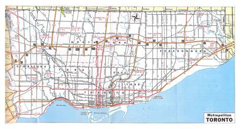 america map toronto large detailed road and metropolitan map of toronto 1970
