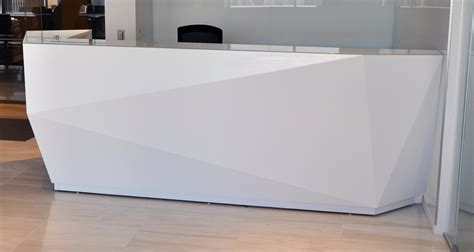 Arnold Reception Desks Inc Custom Prismo Reception Desk