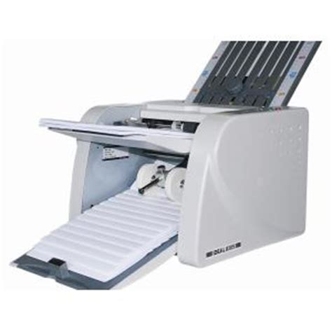 Rent Letter Folding Machine Ideal 8306 Automatic Paper Folding Machine Staples Now Winc