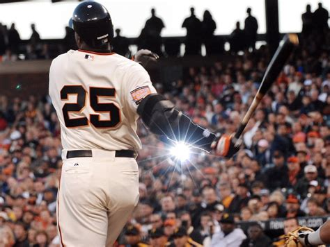 How Many Home Runs Did Barry Bonds Hit by Gameday Thread 4 6 15 Giants Bumgarner Diamondbacks Collmenter 7 10 Pm Pt Sfgiants