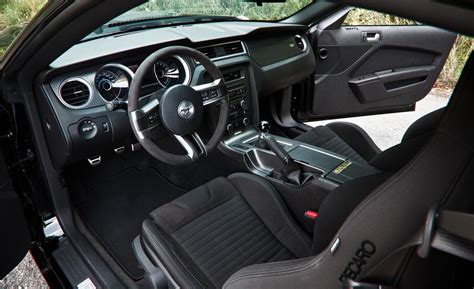2013 Ford Mustang Interior by Car And Driver