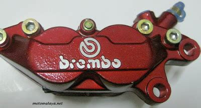 Kaliper Brembo 2 Piston Replika Brembo 2 Pistonkaliper Rem motomalaya brembo 4 piston caliper replica for 135lc lagenda rx z and 125z