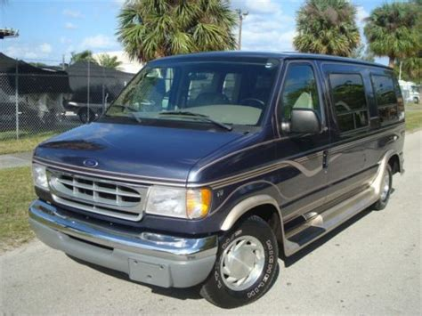 how make cars 1998 ford econoline e150 electronic throttle control buy used 1998 ford e150 low top conversion van by l a west selling no reserve set in pompano