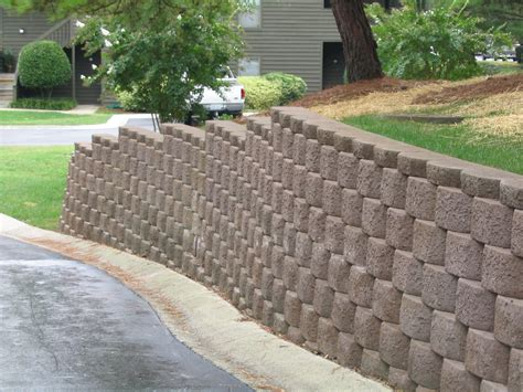 concrete blocks for garden walls interior and exterior drainage terms to robbins and