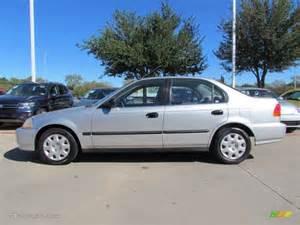 vogue silver metallic 1998 honda civic lx sedan exterior