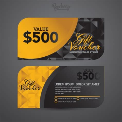 coupon template for adobe illustrator luxury voucher template free vector in adobe illustrator
