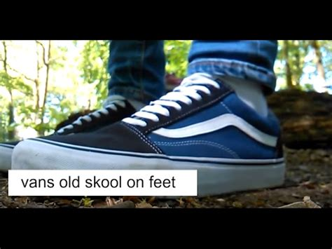 Vans Oldskool Navy Blue Premium vans skool quot navy blue on