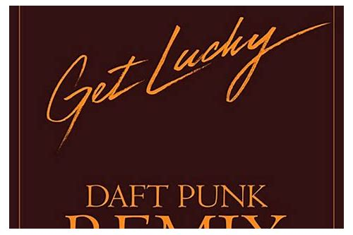 get lucky remix download