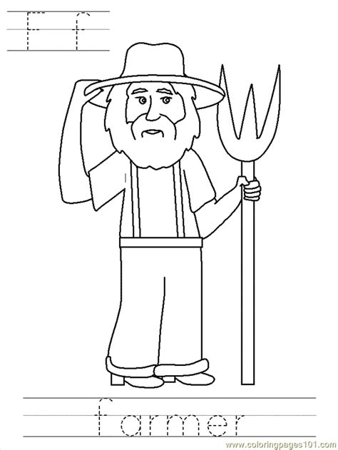 farmer coloring pages bposter farmer coloring page free others coloring pages