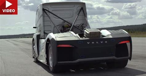 volvos hp iron knight breaks truck speed records
