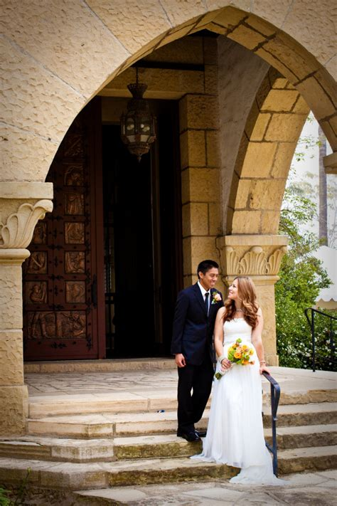 Santa Records Santa Barbara Courthouse Wedding Photographer Kelsey Crews Photo