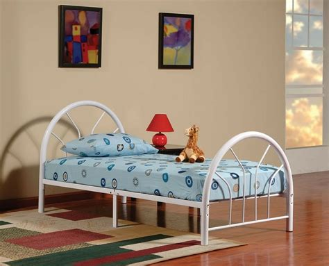 Size Bed Frame For by New Metal Size Kid Bed Frame With Headboard And