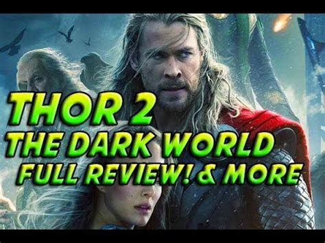 movie review thor 2 decision stats thor 2 thor the dark world in depth movie review