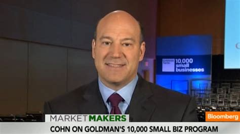 Goldman Sachs Small Business Mba Program by Goldman Sachs In The News Gary Cohn Discusses