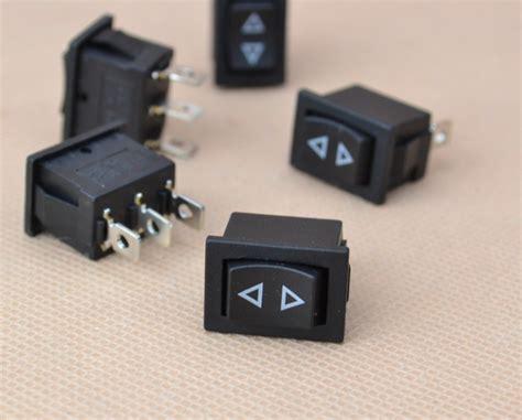 Switch Geser Mini 3 Pin 5x mini momentary rocker switch 3 pin hoist window temporary up type