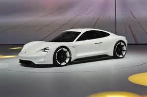 Porsche Ev Production Spec Porsche Mission E Will Be Similar To The