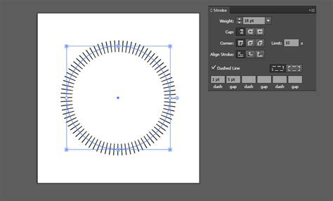 illustrator draw horizontal line how do i draw dashed vertical lines on a path in