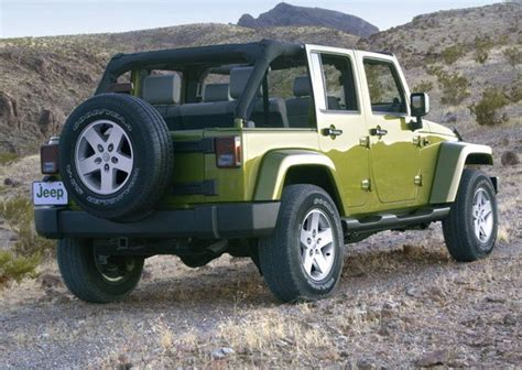 Jeep Open Roof 2007 Jeep Wrangler Unlimited Car Review Top Speed