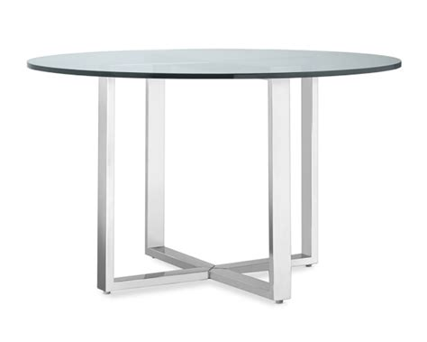 Mercer Dining Table Mercer Dining Table With Glass Top Williams Sonoma