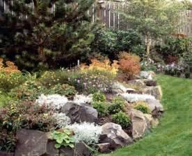 Rock Garden Beds Rock Flower Bed Garden Therapy