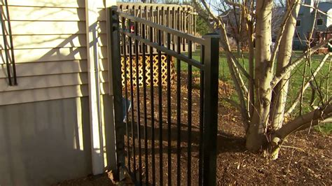 decorative metal fence installation tips installing posts