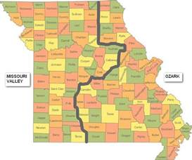 missouri county map images
