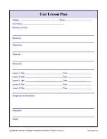 single subject lesson plan template 1000 images about lesson plan record keeping templates