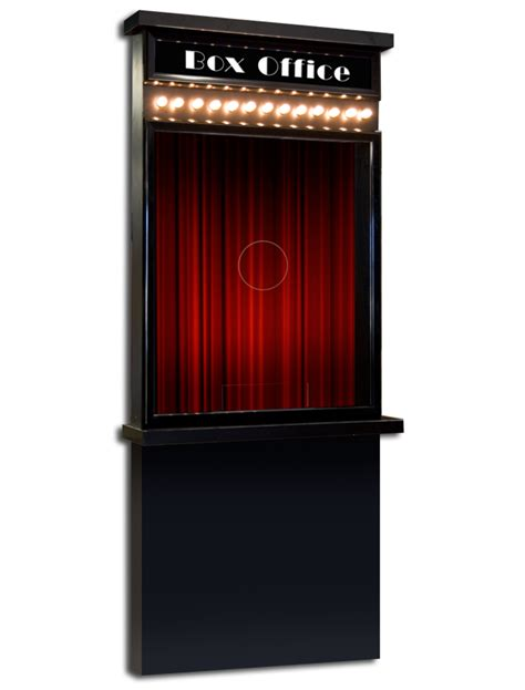 deluxe ticket booth ticket booths decor multimedia