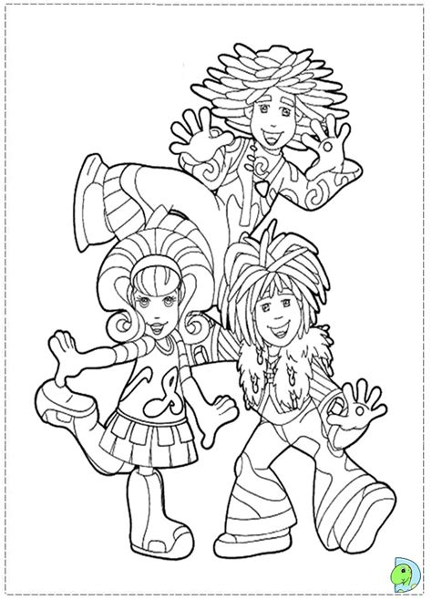 doodlebops coloring pages az coloring pages